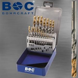 Spiralbohrersatz Titan Point 1 bis 10 mm in Industrie Ausführung 19 tlg