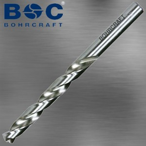 Spiralbohrer 0,6 mm HSSG mit Kreuzanschliff