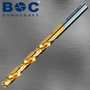 Spiralbohrer 1,0 mm mit Titan beschichtung und Kreuzanschliff