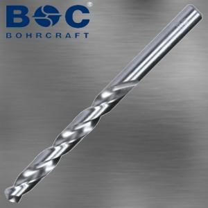 Spiralbohrer 0,5 mm HSSG mit Kreuzanschliff