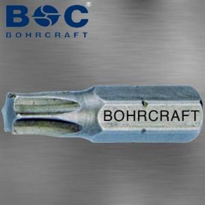 """Standart Schrauberbit Torx Tx 6 Länge 25 mm mit 1/4"""" Antrieb"""