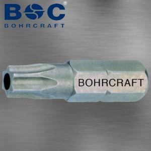 Schrauberbit TR 6 für Torx Schrauben mit Sicherheitsstift