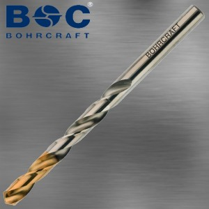 Spiralbohrer Titan Point 1 mm in Industrie Ausführung
